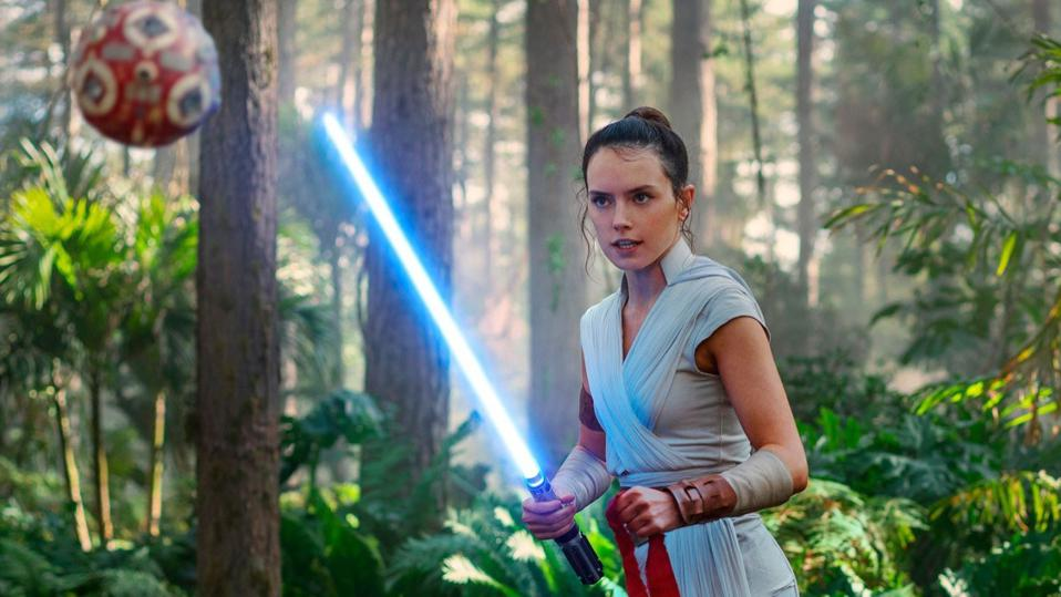 Daisy Ridley in J.J. Abrams' 'Star Wars The Rise of Skywalker'