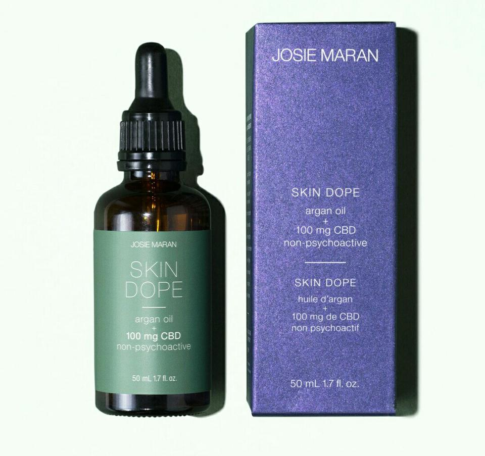 Skin Dope Argan Oil + 100 Mg CBD Oil