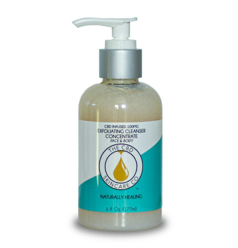 The CBD Skincare Co. CBD Infused Exfoliating Cleanser