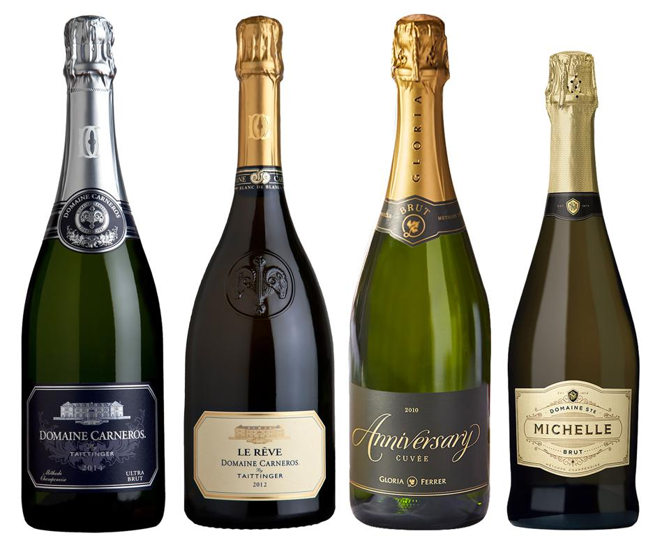 Produce commercial champagne and sparkling wines