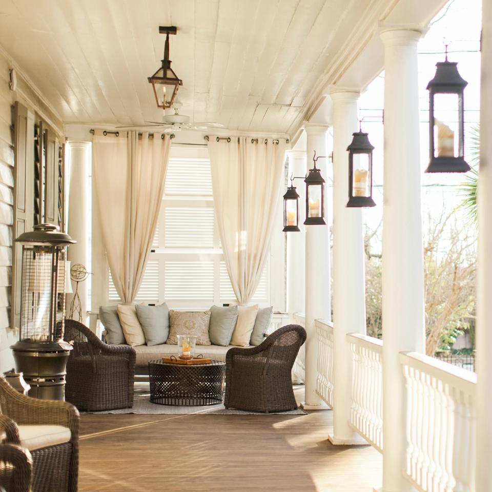 Enjoy Southern hospitality veranda-style at the historic Zero George Hotel in Charleston, South Carolina.