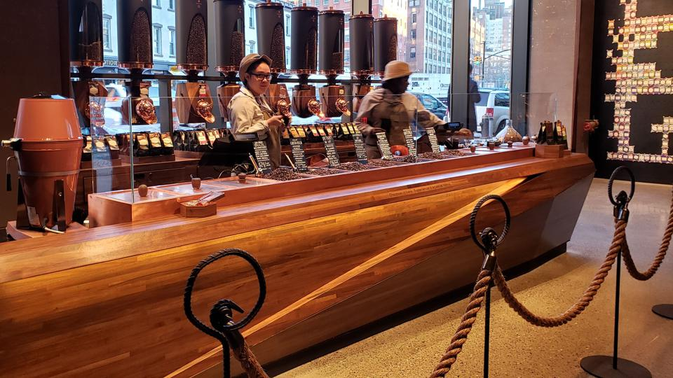 Starbucks Reserve Roastery in New York's Meatpacking District