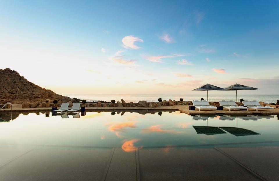 Maravilla Club Lap Pool Los Cabos Twin Dolphins