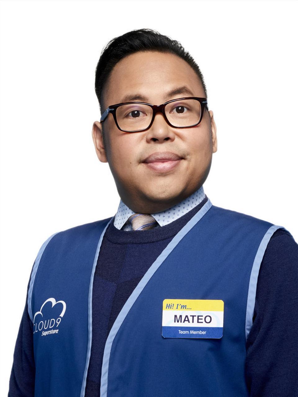Nico Santos stars as Mateo on ″Superstore.″
