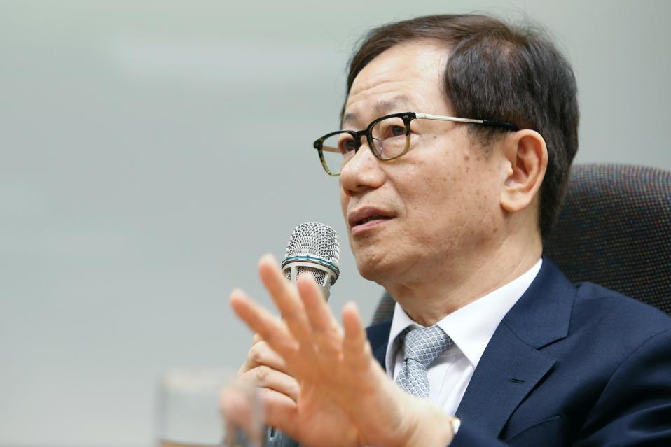 Mark Liu, chairman of Taiwan Semiconductor Manufacturing Co. (TSMC)