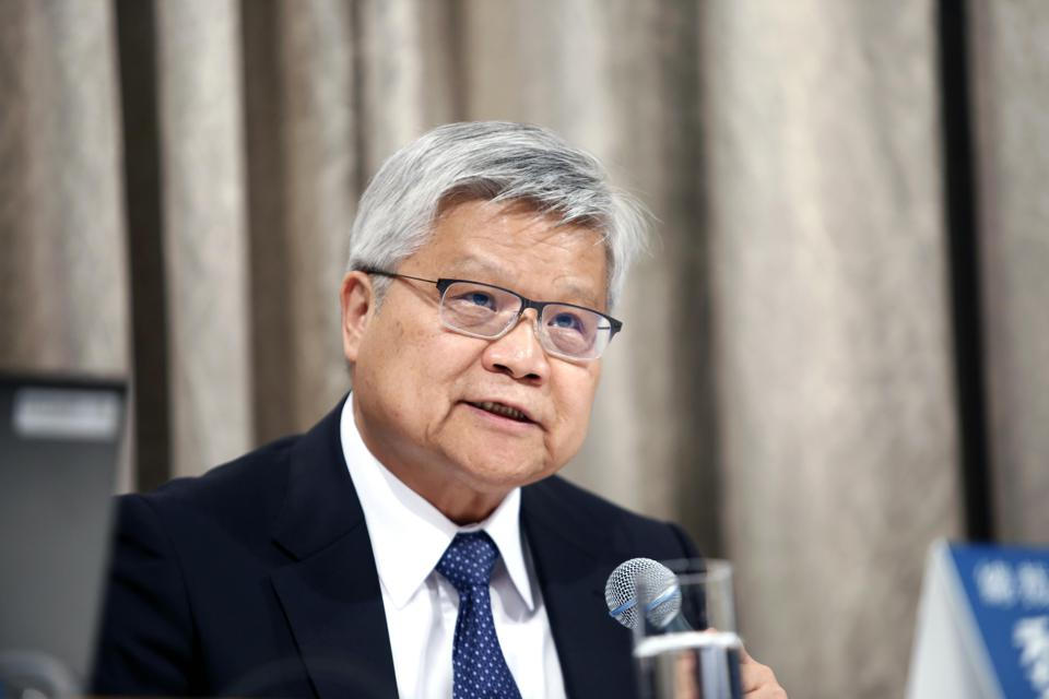 C.C. Wei, chief executive officer of Taiwan Semiconductor Manufacturing Co.