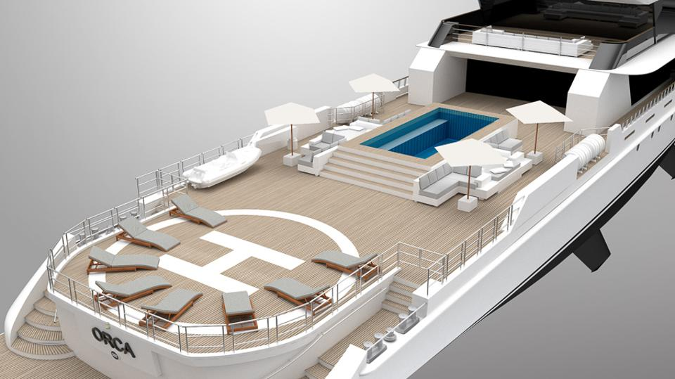 Project Orca by Rosetti Superyachts combines luxury and utility.