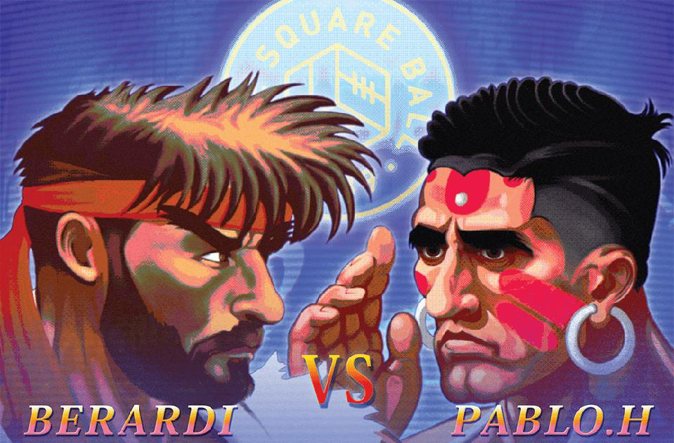 Leeds United The Square Ball Street Fighter