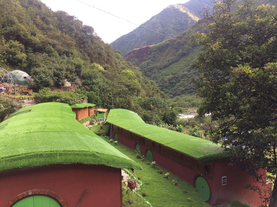 Brand new ecolodge built by Alpaca Expeditions along the Salkantay Trek.
