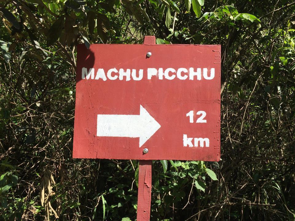 Closing in on Machu Picchu on the Salkantay Trek.