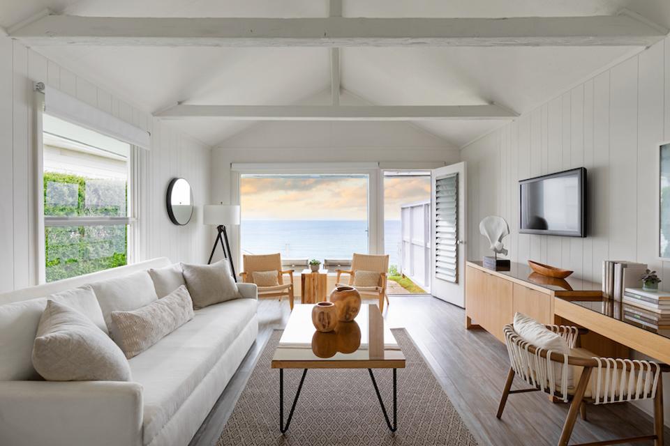 Gurney's, Montauk, suite, bedroom, eat drink sleep, hamptons, oceanfront, living room