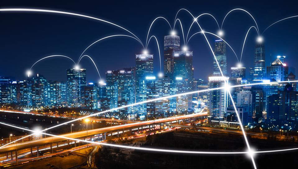 The network of city in Beijing
