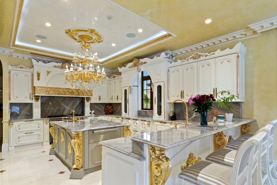 The gilded kitchen