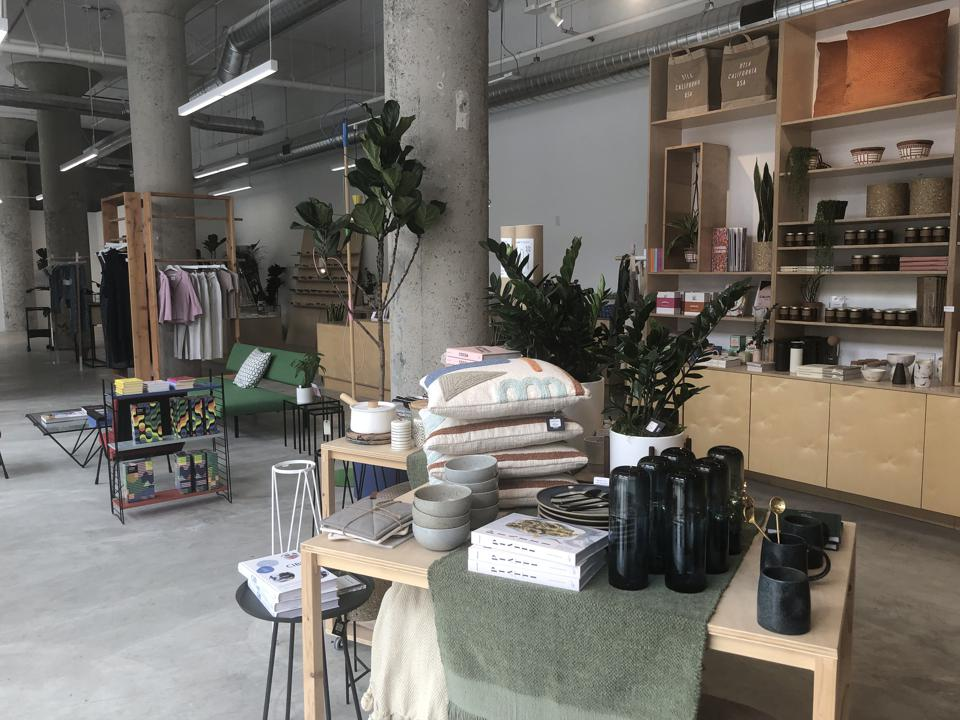 Poketo is a home store that hosts artist pop-ups