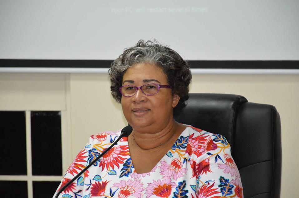 Dr Joy St John, Executive Director of the Caribbean Public Health Agency (CARPHA)