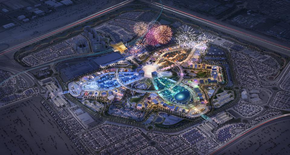 The site of Expo 2020 Dubai