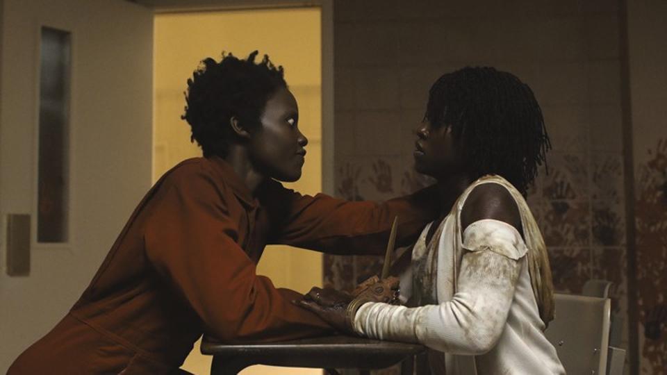 Lupita Nyong'o and Lupita Nyong'o in Jordan Peele's 'Us'