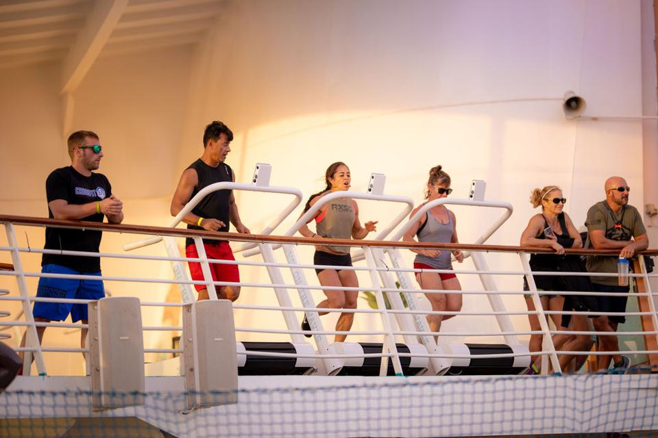 WOD on the Waves fitness cruise