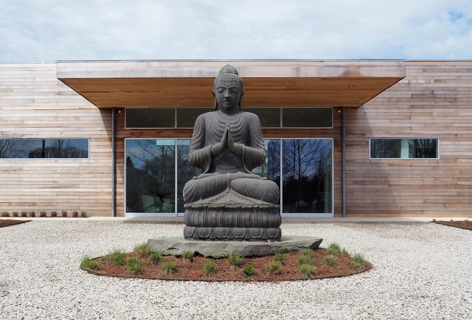 Shou Sugi Ban House Spa Hamptons