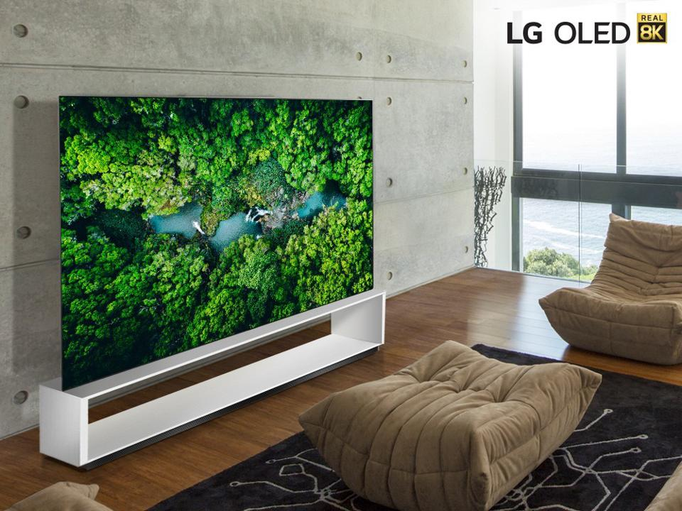 The LG OLED88ZX
