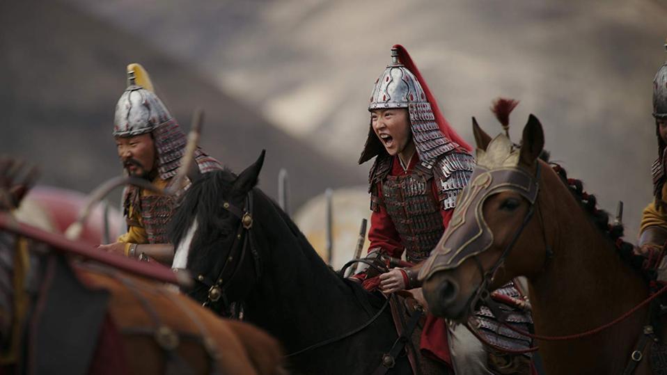 Yifei Liu in Walt Disney's 'Mulan'