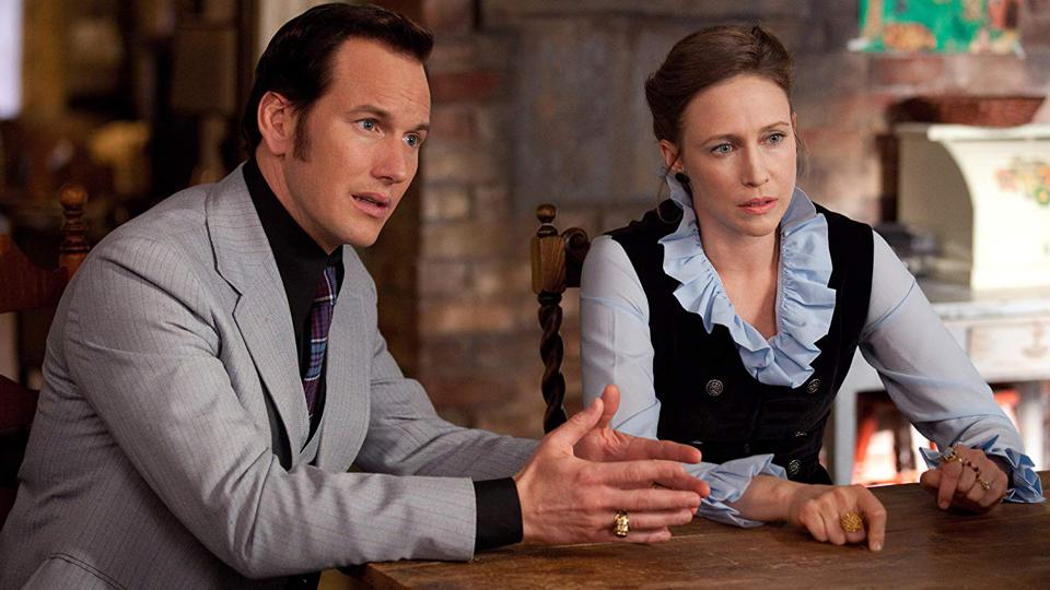Vera Farmiga and Patrick Wilson in James Wan's 'The Conjuring'