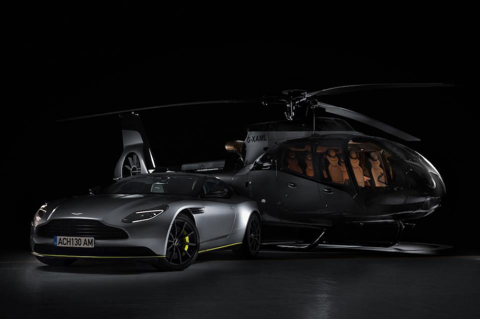 Aston Martin Takes To The Skies With ACH130 Aston Martin Edition Helicopter