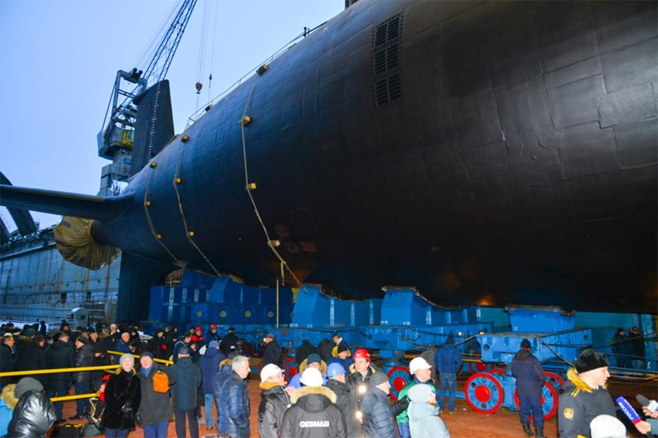 Russian Navy Yasen Class Submarine