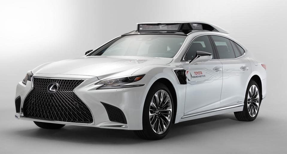 Toyota autonomous concept car