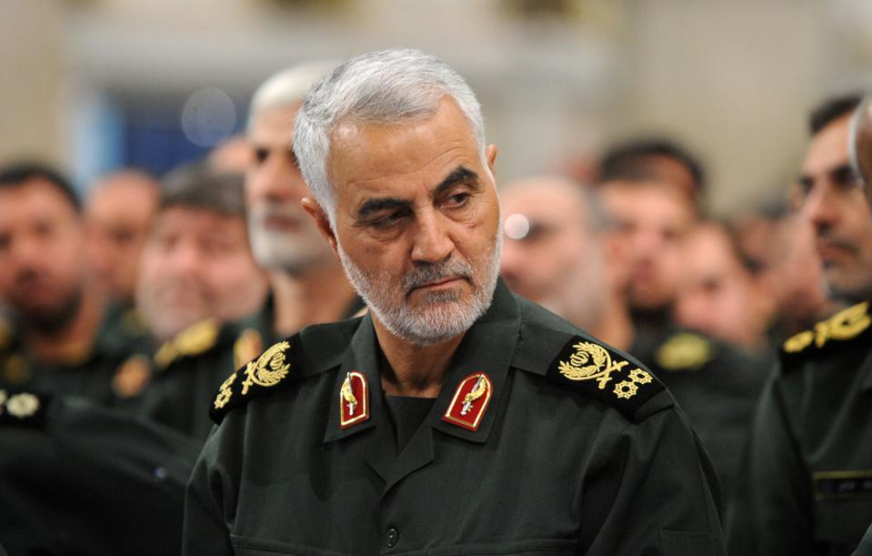 Airstrike kills Iran's Quds force head, Iraqi PMU chief