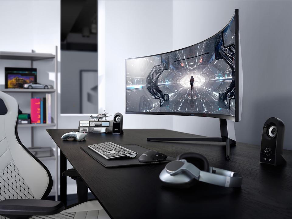 The Samsung G9 monitor.