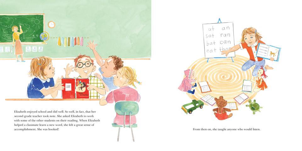 elizabeth warren warren's big bold plans book cover children's book picture biography