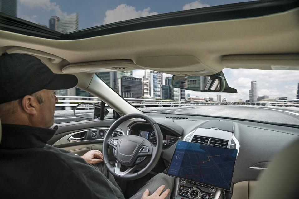 Qualcomm automated driving development prototype powered by the Snapdragon Ride compute platform