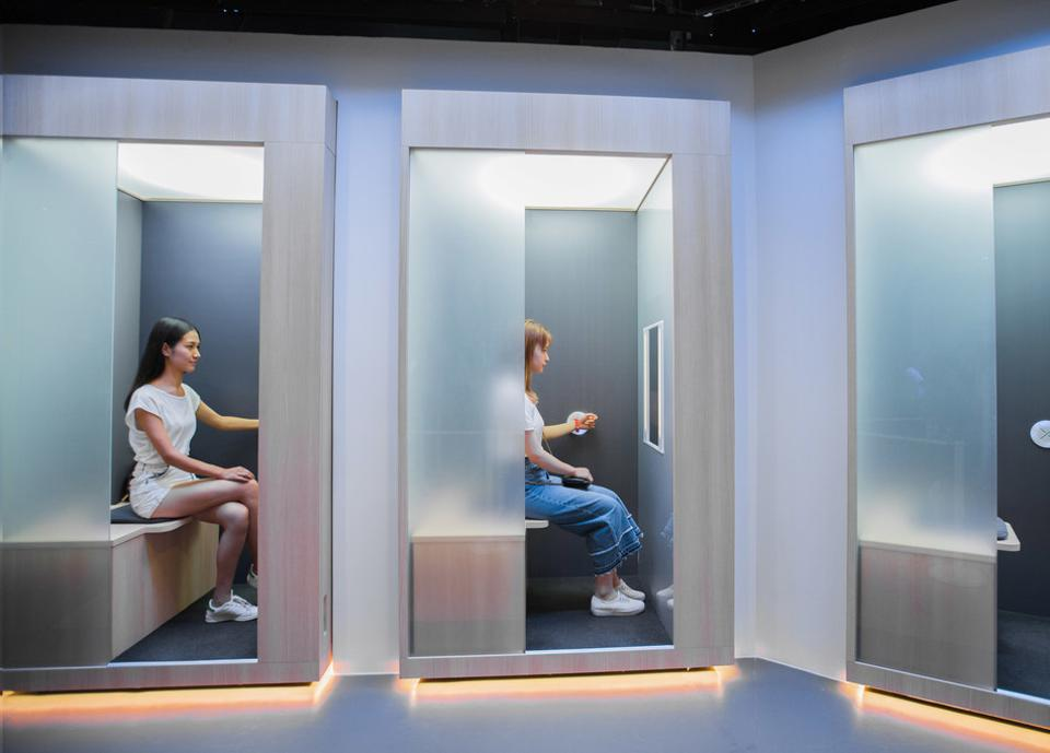 Biometric brandscapes will be key to creating more personalized, perceptive forms of brand engagement - as per SK-II ultra-individualized diagnostic spaces.
