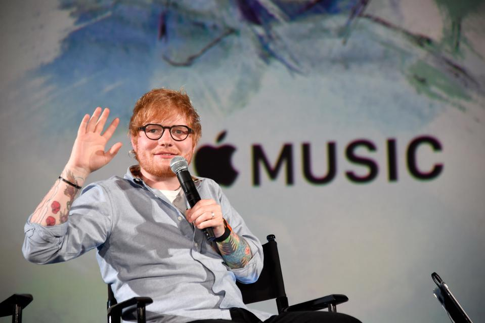 Apple Music Presents 'Songwriter' With Ed Sheeran In Los Angeles