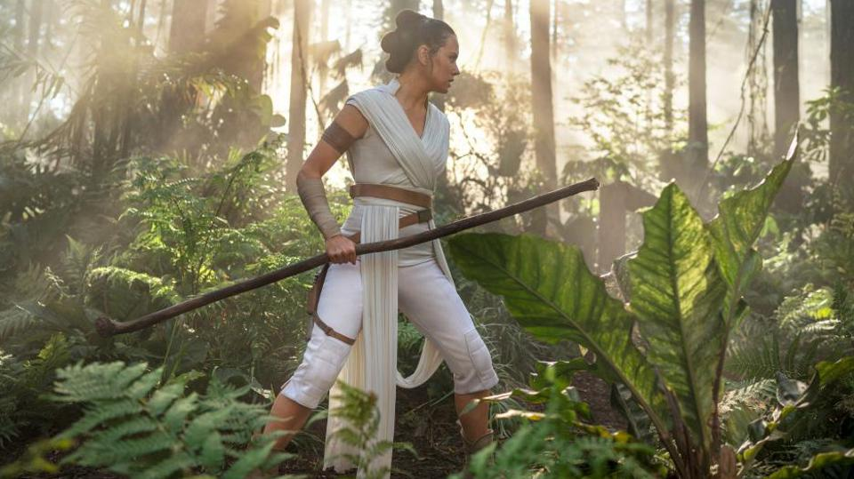 Daisy Ridley in Lucasfilm and Disney's 'Star Wars The Rise Of Skywalker'