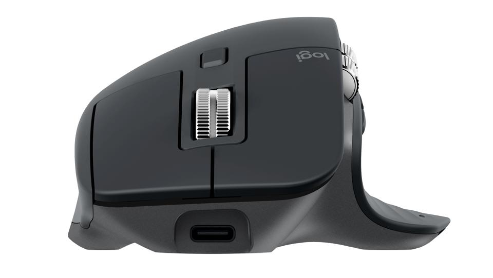 Front view of Logitech Master MX3 mouse