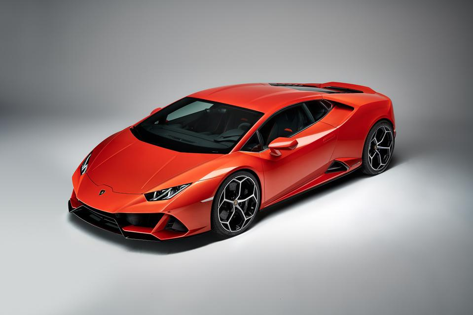 The Lamborghini Huracan Evo is getting built-in Alexa Voice Services