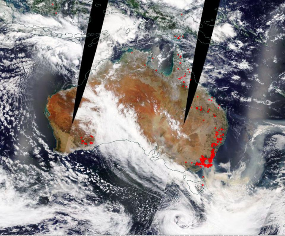 How Fires In Australia Could Alter Weather Elsewhere Too