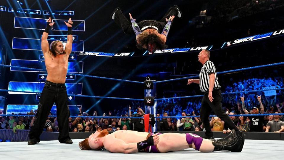 WWE SmackDown: Matt Hardy, Jeff Hardy and Sheamus