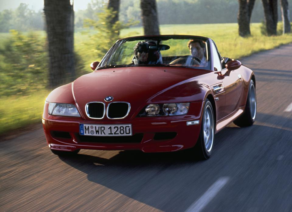 BMW M Roadster.