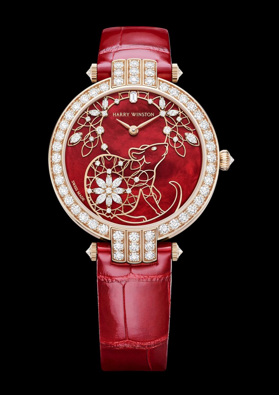 Harry Winston Unveils Chinese New Year Watch With More Than 100 Diamonds