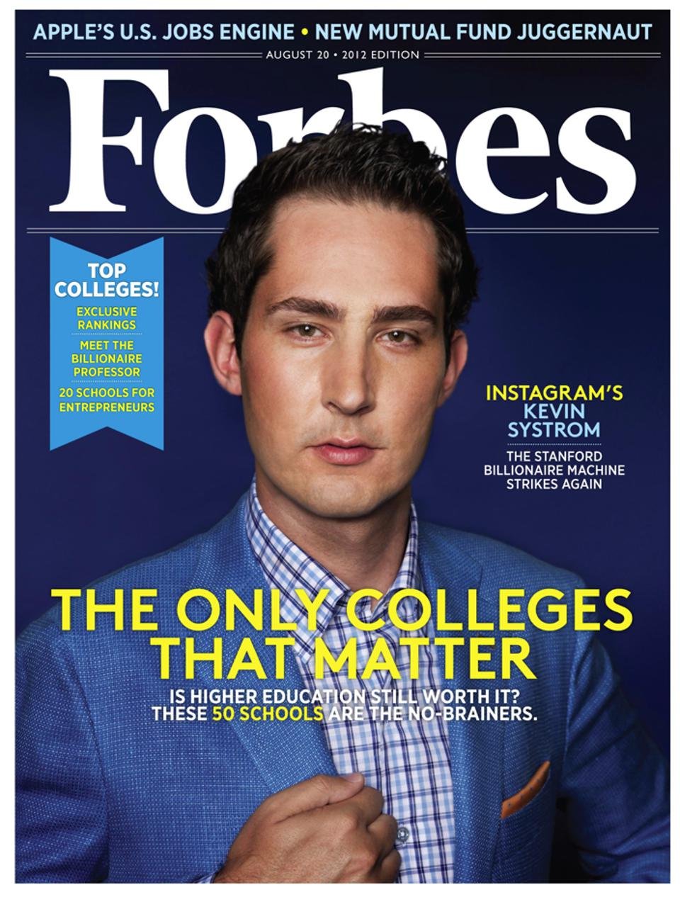 Instagram founder Kevin Systrom