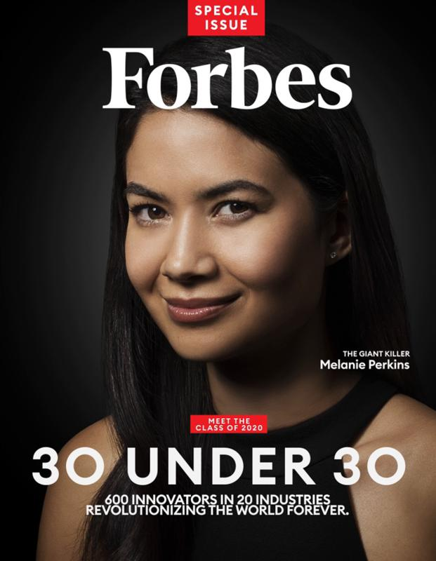 Canva founder Melanie Perkins