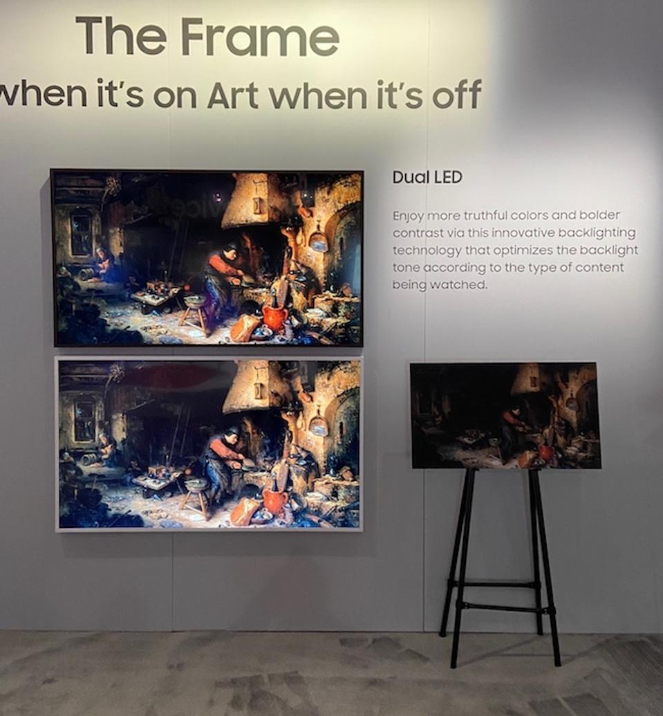 Samsung's The Frame TVs.