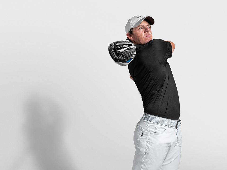 Rory McIlroy and the SIM driver