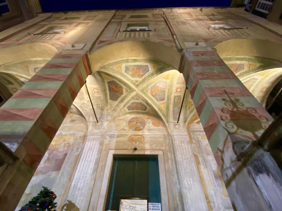 Exterior of Chiesa San Pietro in Bianchi