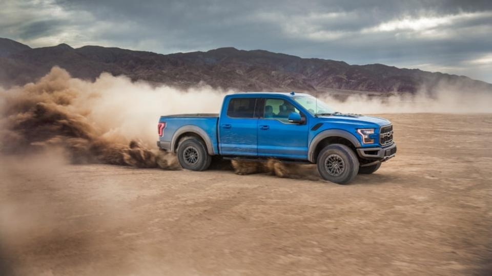 Ford F-series pickup trucks maintain leadership in that segment.