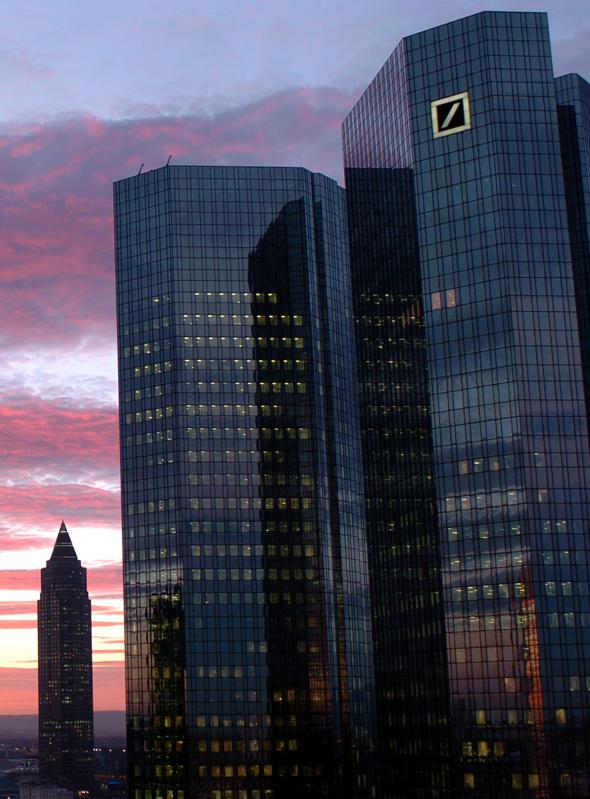 Deutsche Bank: The End Of Ambition