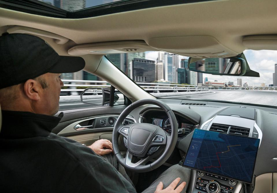 Autonomous car driving without the driver's assistance
